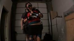 Injected (noirgirls) Tags: fetish video noir heroine horror gasmask distress peril damsel ryona tobatsu