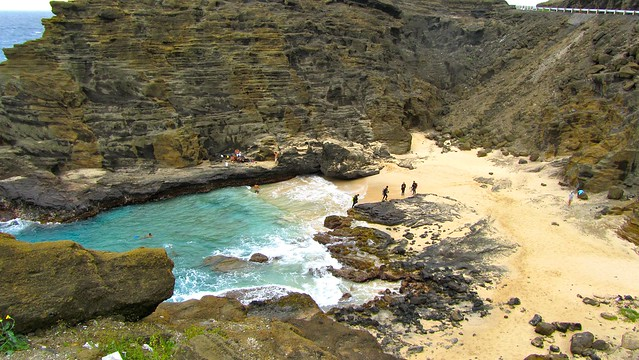 Hawaii, Oahu, Eternity Bay, Halona Cove