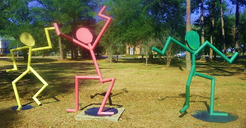 Daphne Sculpture Park - Dancing
