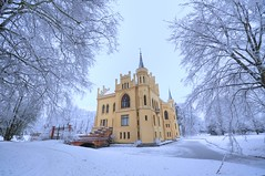 Winter in Germany (msdstefan) Tags: schnee winter snow castle ice germany deutschland frozen december niceshot leer ostfriesland dezember moat schloss hdr niedersachsen lowersaxony nikond90 evenburg platinumheartaward 100commentgroup leuropepittoresque mygearandme mygearandmepremium mygearandmebronze mygearandmesilver mygearandmegold mygearandmeplatinum ringexcellence artistoftheyearlevel3