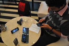 Nokia E7 launch Preview Party @ Manre New Delhi, India