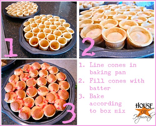 CupcakeConesRound4bakingconescollage
