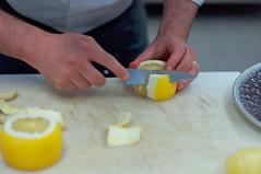 Карпаччо из сельдерея с грейпфрутом. Арналь
