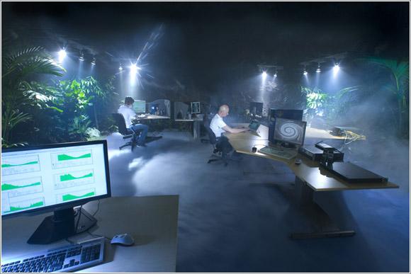 Pionen office