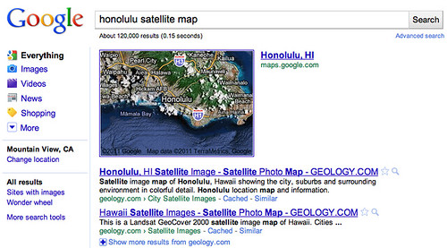 Google Image Search Adds SVG Filter Google Displays Satellite - Search satellite maps