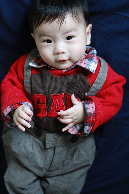 Baby Marcus in GAP & H&M Outfit