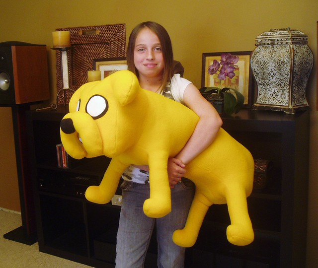 Jake Plush Doll, Huge