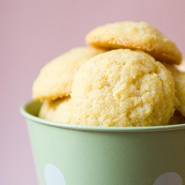 Cornmeal cookies 1