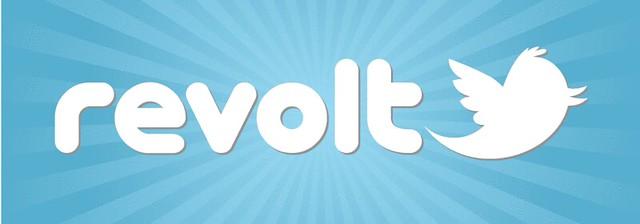 Twitter Revolt Logo (burst)