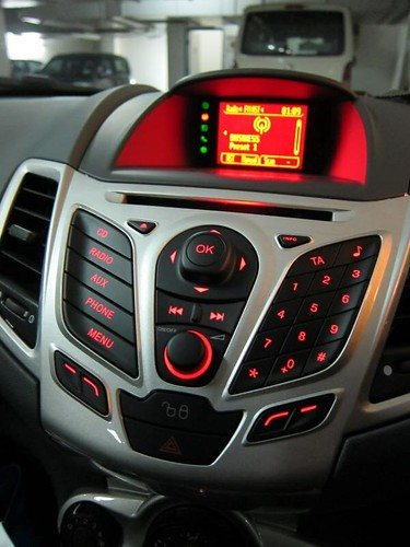 Ford Fiesta Sport Center Console