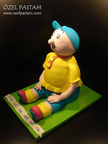 3D Calliou Pasta / 3D Calliou Cake