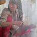 Processing silk - Hotan, Xinjiang