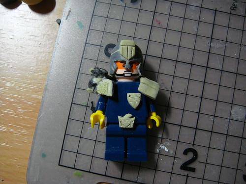 Custom minifig Dredd custom minifig