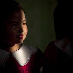 Little girl in school - North Korea (Eric Lafforgue) Tags: school people color colour girl smile childhood youth square person kid war asia child joy happiness korea jeunesse communism learning knowledge asie lesson coree enfant fille sourire bonheur personne couleur humanbeing joie ecole communisme northkorea dprk fillette enfance carre connaissance lecon colorpicture waistup squarepicture 0496 democraticpeoplesrepublicofkorea apprentissage etrehumain coreedunord rpdc chongjin kimjongun republiquepopulairedemocratiquedecoree cadragealataille imagecaree ecoletchanggwang tchanggwangschool