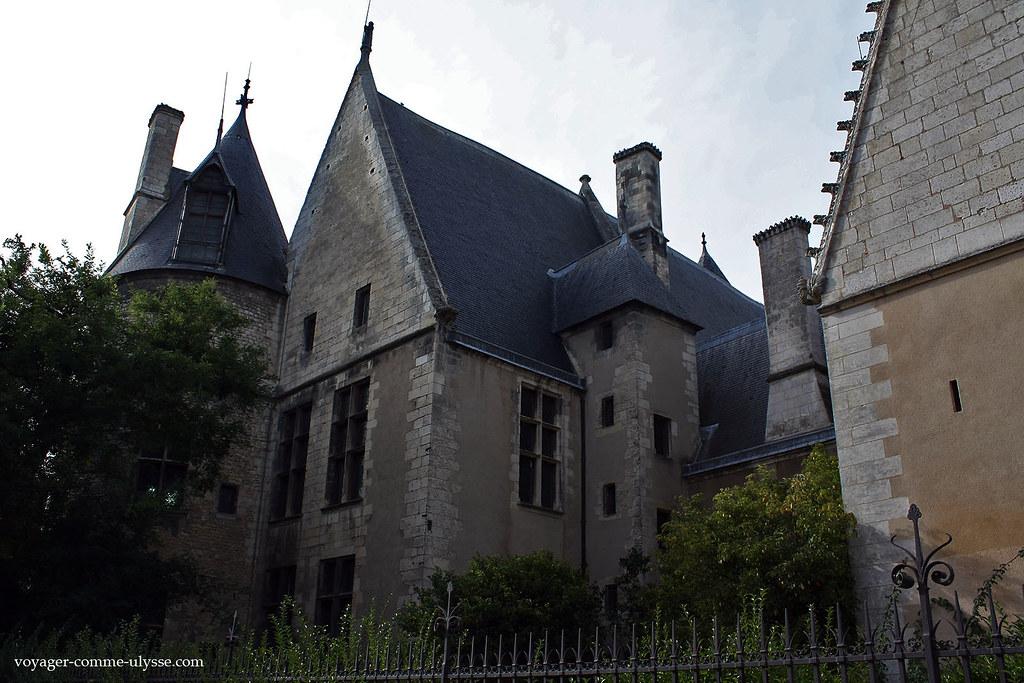Le Palais Jacques Cœur était une résidence civile avant tout