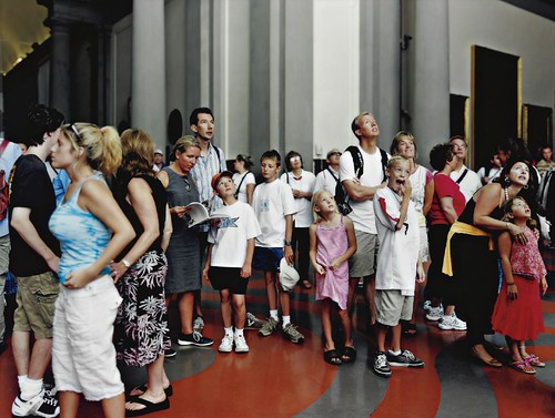 [ S ] Thomas Struth - Audience 2 (Galleria Dell'Academia), Florenz (2004) by Cea.