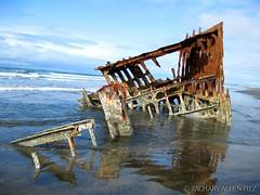 clatsop beach shipwreck peter iredale (zacharyallenpilz) Tags: beach peter photoblog shipwreck centralia clatsop iredale zacharyallenpilz