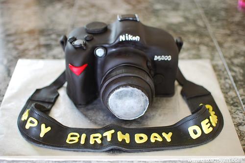 nikon cake front