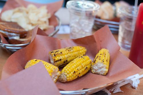 Grilled Corn-Soho Park, New York