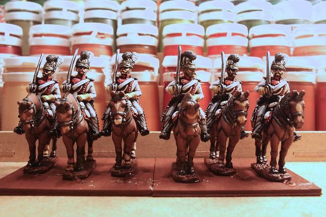 Bavarian 1st Dragoons, 1st squadron