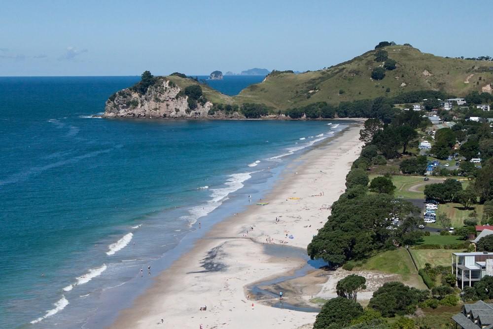 View of Hahei Beach