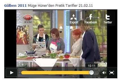 TRT1 / Gülben Programı 21.02.2011