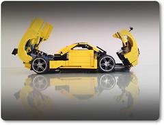 Pagani Zonda Hood-trunk (Firas Abu-Jaber) Tags: model lego zonda lugnuts pagani moc car mocpages vehicle lego abujaber pagani zonda firas abujaber moc lugnuts lego