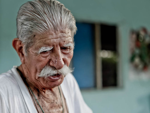 100 years old mexican