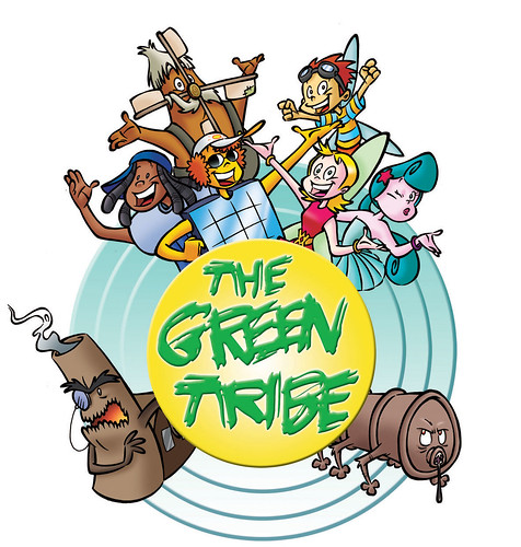 Logo The Green Tribe#1B4957