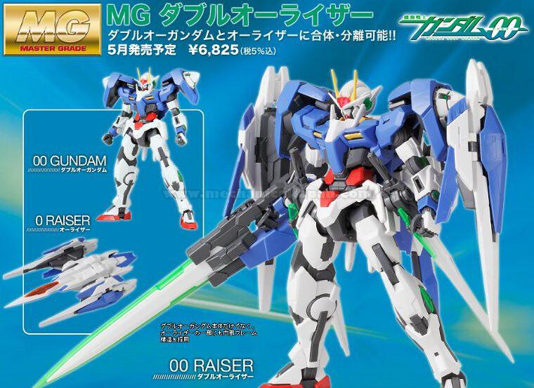 Gundam 00 - MG 00 Raiser (Bandai)