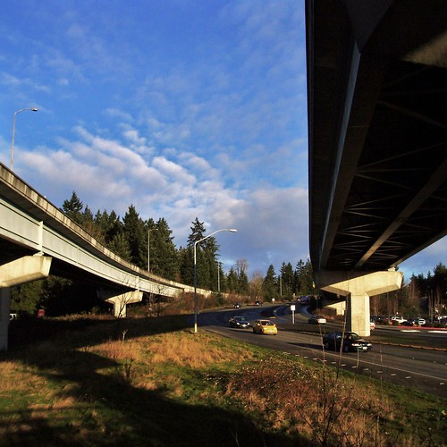 I-90 Interchange at Eastgate - Bellevue WA