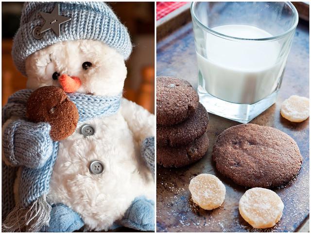 Snowmen, Cookies and Milk