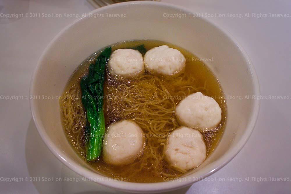 Fish Ball Soup @ KL, Malaysia