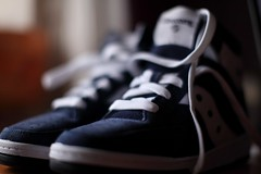 IMG_7901 (False Media) Tags: basketball navy sneakers retro sample saucony hangtime 50mmf12l canon5dmarkii falsemedia bykovairina