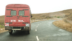 The Mail bus in Sohra/ cherrapunji, Meghalaya, India (sanjayausta) Tags: world people india photography countryside waterfall asia place indian north east hills ridge exotic photographs second eastern rainfall cherrapunji sanjay highest meghalaya khasi austa sohra wettest