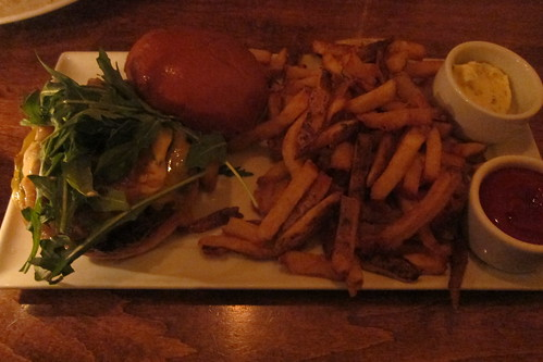 Rustic Canyon Wine Bar: Burger & Fries