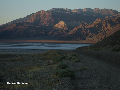 Mormon Point: Death Valley National Park