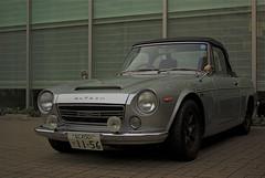 The Fairlady. (Leodileo) Tags: car japan vintage 2000 pentax retro osaka 40mm limited sportscar datsun fairlady k10d