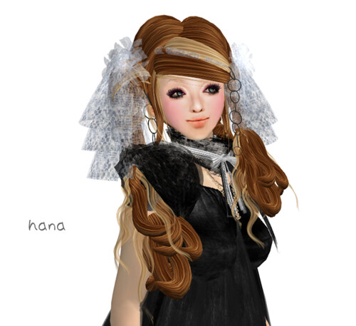 .+*HS*+. Hair ::KIST:: LB Original Hair Color & Lace (BOX)
