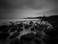 Dunstanburgh Castle (nmaddi) Tags: canon coast sigma northumberland 1020mm dunstanburghcastle eos50d bw10stopndfilter