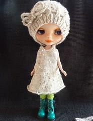 Blythe Oatmeal hat and dress