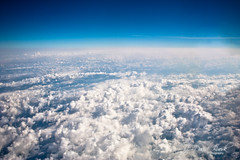 Places (J. David Buerk) Tags: blue sky usa cloud black view space altitude unitedstatesofamerica clear upper areal