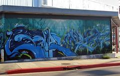 2Shae Plek UTI (Stainless-) Tags: streetart graffiti losangeles traintracks vandalism graff piece burner bombing plek layard 2shae losangelesgraffiti