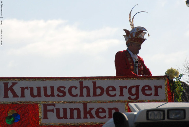 Carnival in Düren, Germany