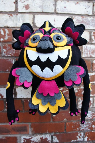 Looboo - Totem Detail by Felt Mistress