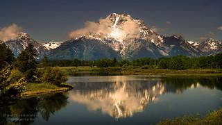 Mt. Moran Reflected on the Snake River at Grand Teton National Park