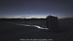 20110306-IssOverShantyFin (Ken Scott) Tags: winter usa moon ice stars march timelapse michigan clip iss polaris leelanau nlakeleelanau icefishingshanty nearthe45thparallel kenscottphotography kenscottphotographycom