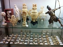 Japanese scrimshaw (clickfarmer) Tags: japan japanese tokyo carving harajuku bone bazaar oriental scrimshaw