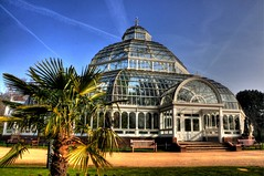 Glass House (Shertila Tony) Tags: england glass weather architecture liverpool europe day britain sunny clear castiron hdr seftonpark palmhouse merseyside yahooweather platinumheartaward mygearandme victorianhdr
