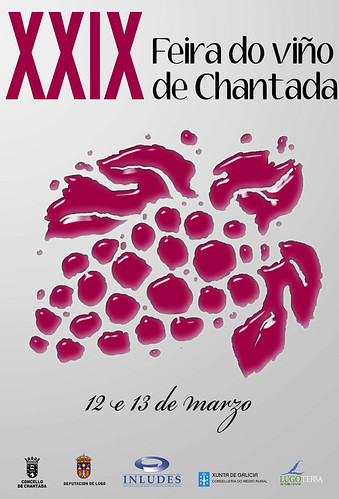 Chantada 2011 - Festa do Viño - cartel